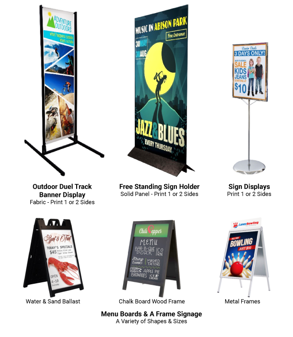 Free Standing Signage